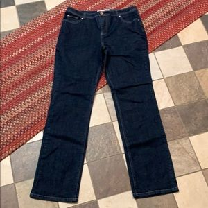 Faded Glory Stretch Straight Classic Jeans. Tall